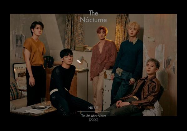 NU'EST|韓国8枚目のミニアルバム『The Nocturne』