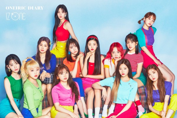 IZ*ONE 韓国3枚目のミニアルバム『Oneiric Diary』