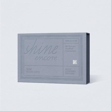 キム・ソンギュ 韓国ソロコンサート [SHINE ENCORE]が映像化