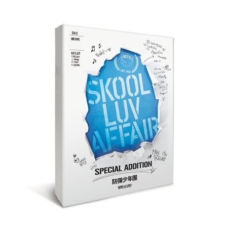 BTS |韓国セカンド・ミニ・アルバム『Skool Luv Affair』スぺシャルエディション<リイシュー盤>