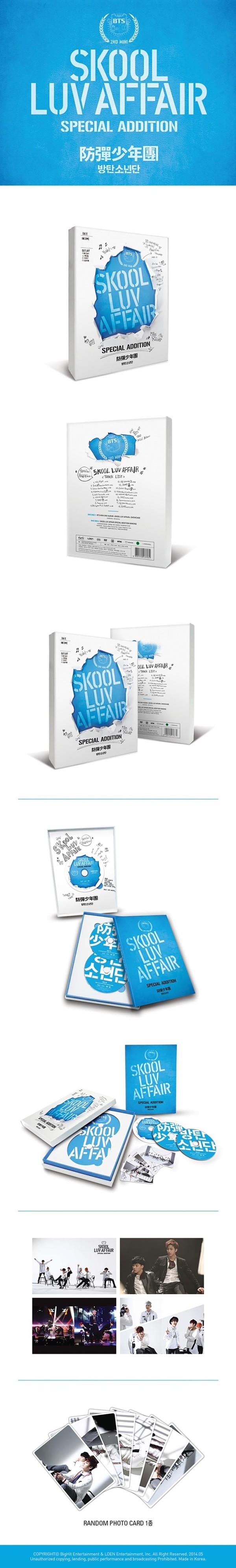 韓国セカンド・ミニ・アルバム『Skool Luv Affair』にスぺシャルエディション