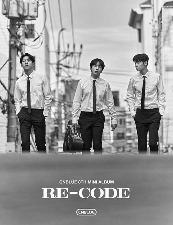 CNBLUE、韓国8枚目のミニアルバム『RE-CODE』