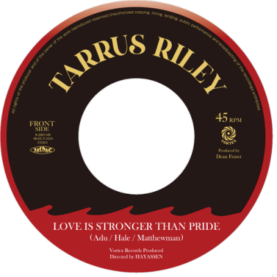 TARRUS RILEY - LOVE IS STRONGER THAN PRIDE