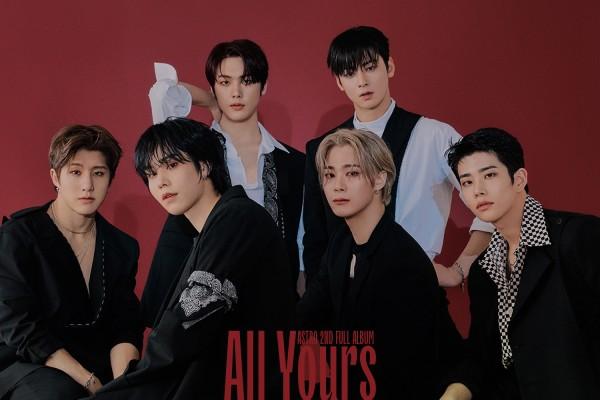 ASTRO|韓国セカンドフルアルバム『All Yours』|