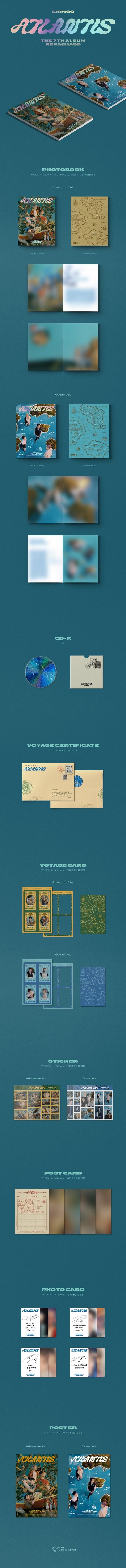 SHINee|韓国リパッケージアルバム『Atlantis』|