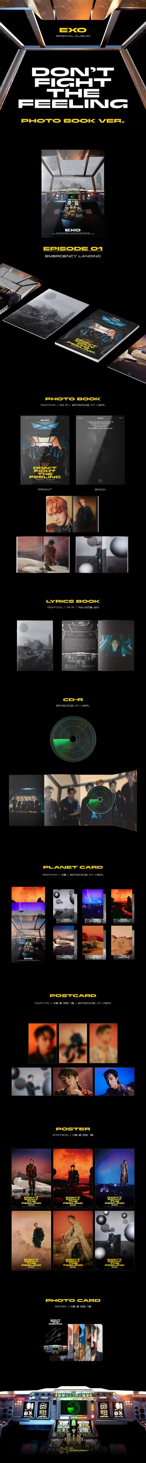 EXO、韓国スペシャルアルバム『DON'T FIGHT THE FEELING』