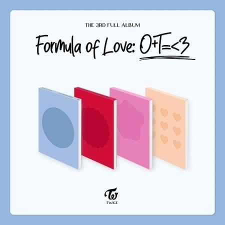TWICE|韓国サードアルバム『Formula of Love: O+T=<3』