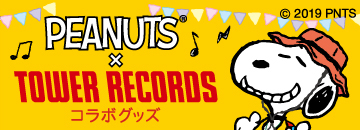 PEANUTS × TOWER RECORDS