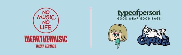 WEARTHEMUSIC × Type Of Person × Caprice × IBUCHANG