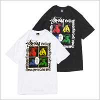 TOWER RECORDS × STUSSY YOUTH BRIGADE TEE