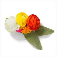 TOWER RECORDS x CHACO MIX FLOWER BARRETTE'13