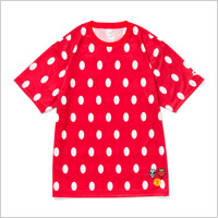 TOWER RECORDS x arena x 風とロック TEE (RED)
