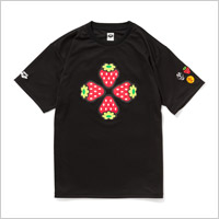 TOWER RECORDS x arena x 風とロック TEE (BLACK)