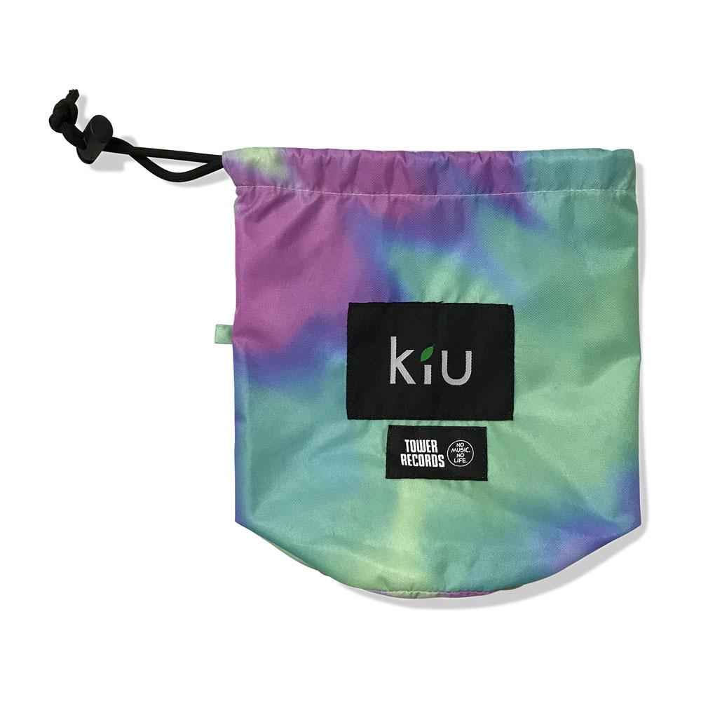 KiU × TOWER RECORDS RAIN PONCHO