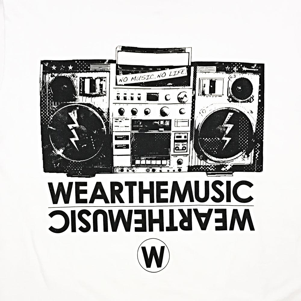 WEARTHEMUSIC × TOWER RECORDS TEE