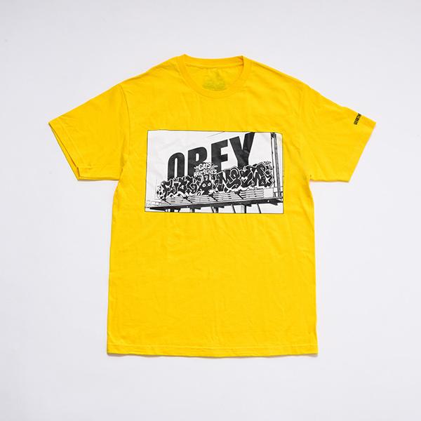 少年イン・ザ・フッド × WEARTHEMUSIC S/S T-shirt(Yellow)
