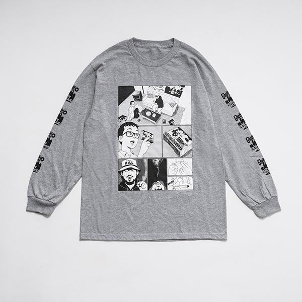 少年イン・ザ・フッド × WEARTHEMUSIC L/S T-shirt(Heather Gray)