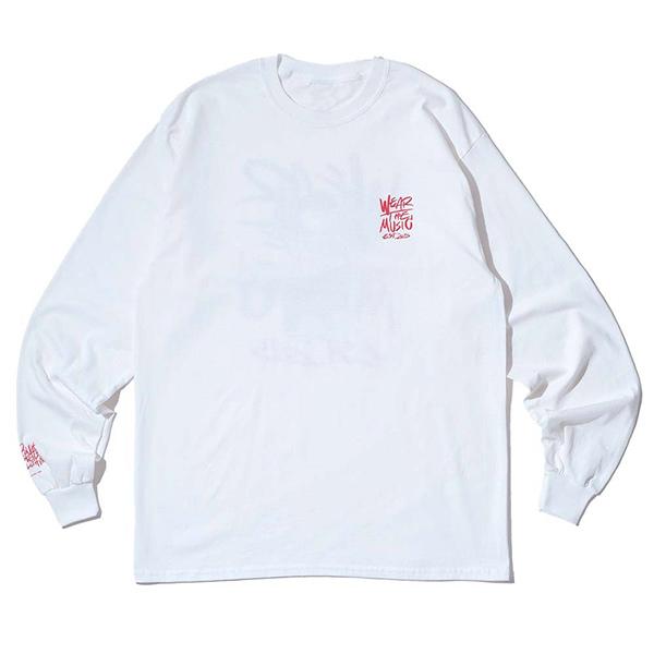 RSC × WTM L/S T-shirt(White)