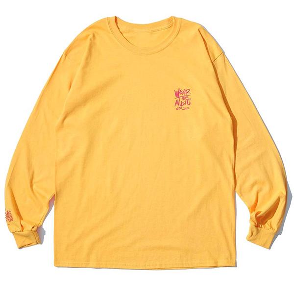 RSC × WTM L/S T-shirt(Yellow)