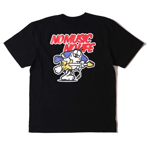 Caprice × WTM Dog S/S T-shirt(Black)