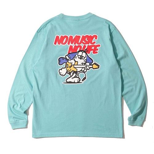 Caprice × WTM Dog L/S T-shirt(Light Blue)