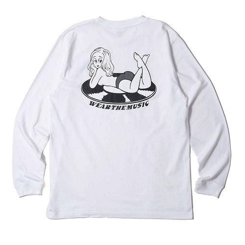 IBUCHANG × WTM L/S T-shirt(White)