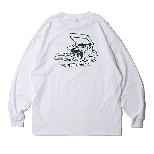 Type Of Person × WTM L/S T-shirt(White)