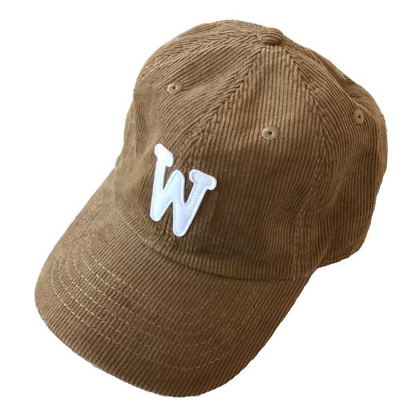 WTM コーデュロイキャップ ベージュ