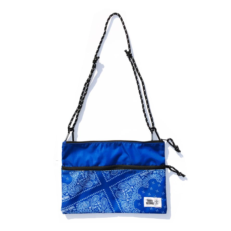 WTM サコッシュ PAISLEY / BLUE