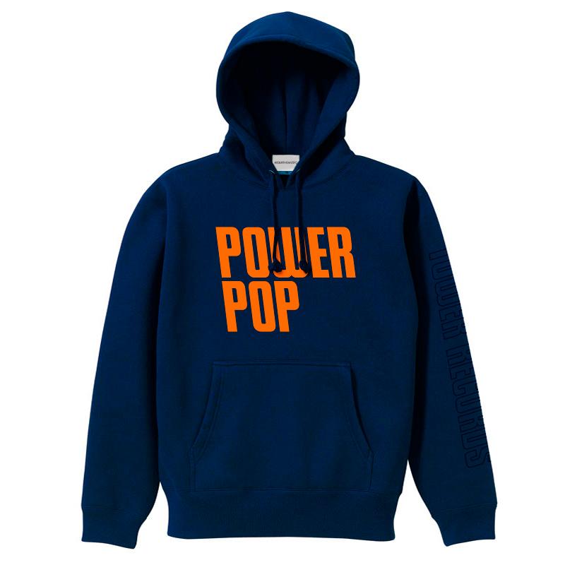 ジャンルSWEAT パーカー POWER POP ネイビー