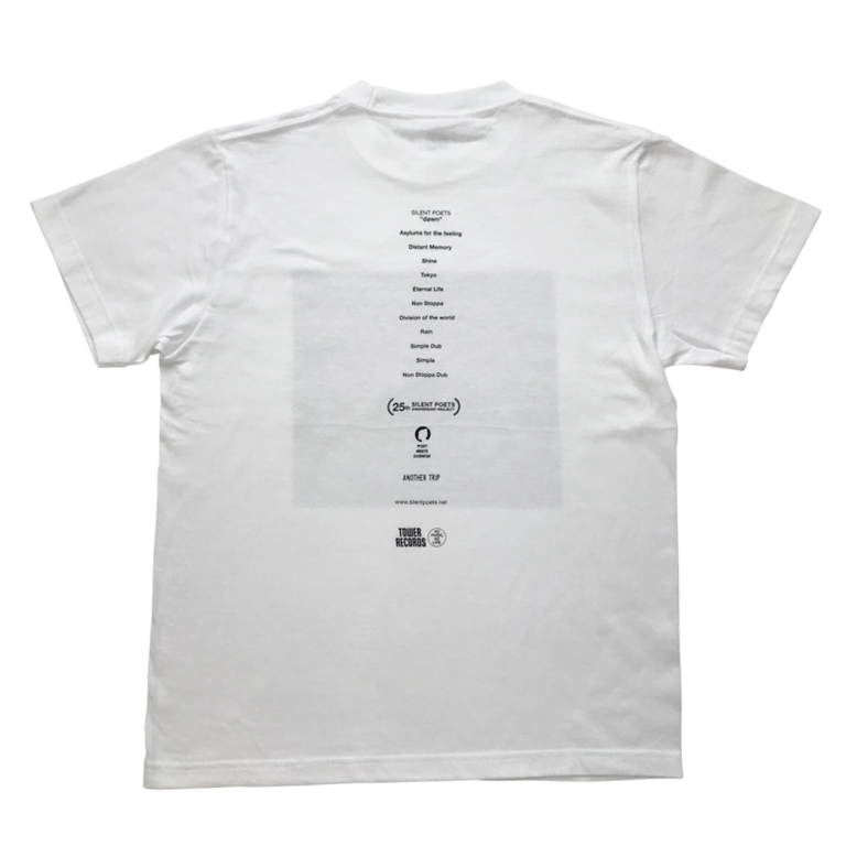 Silent Poets ×TOWER RECORDS T-Shirts