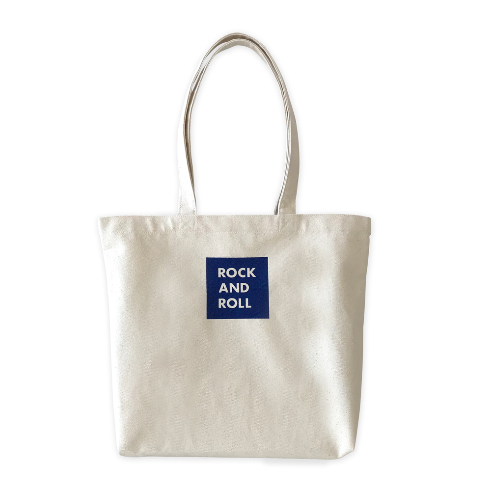 WTM_トートバック ROCK AND ROLL 33 NAVY