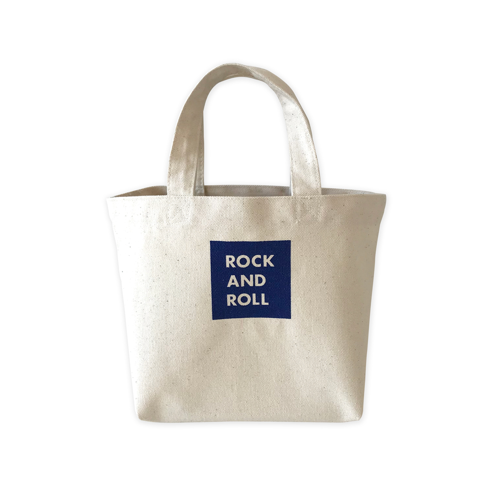 WTM_トートバック ROCK AND ROLL 45 NAVY