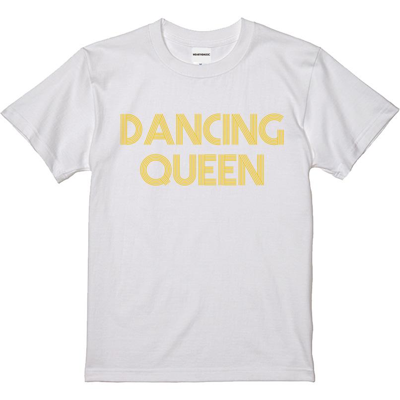 WTM ジャンルT-Shirt DANCING QUEEN ホワイト