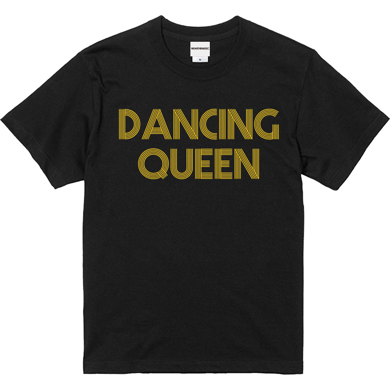 WTM ジャンルT-Shirt DANCING QUEEN ブラック