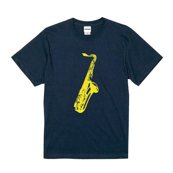 WTM クラシカルTシャツ Saxphone ネイビー