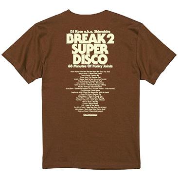 DJ Koco a.k.a. Shimokita × WEARTHEMUSIC Tシャツ
