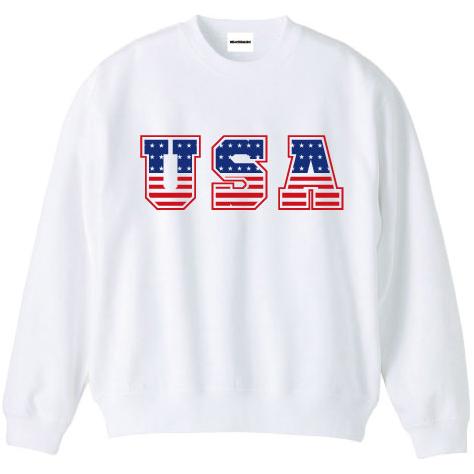 WTM オリジナルロゴスウェット USA