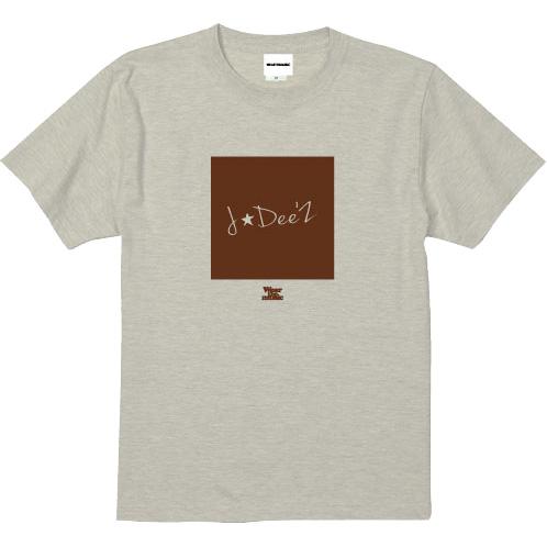 J☆Dee'Z × WEARTHEMUSIC Tシャツ ナイン(オートミール)