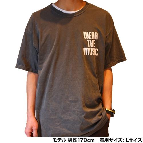 WTM Tシャツ TOWER VINYL(ヴィンテージブラック)