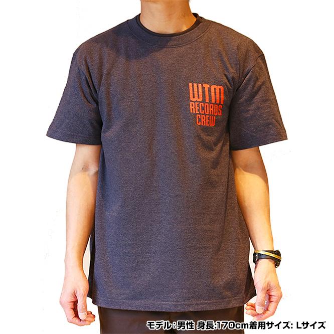 WTM Tシャツ CREW(ダークヘザーネイビー)