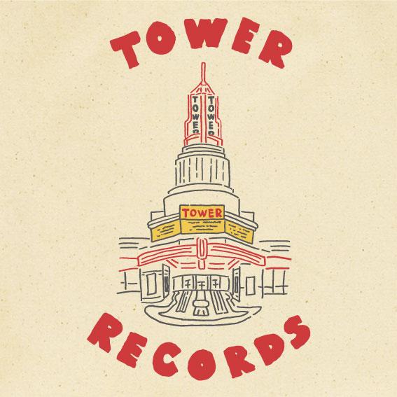 WTM トートバック TOWER THEATER(ナチュラル/バッチ付)