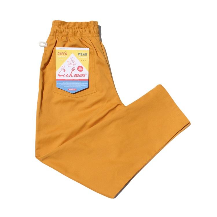Chef Pants 02 MUSTARD