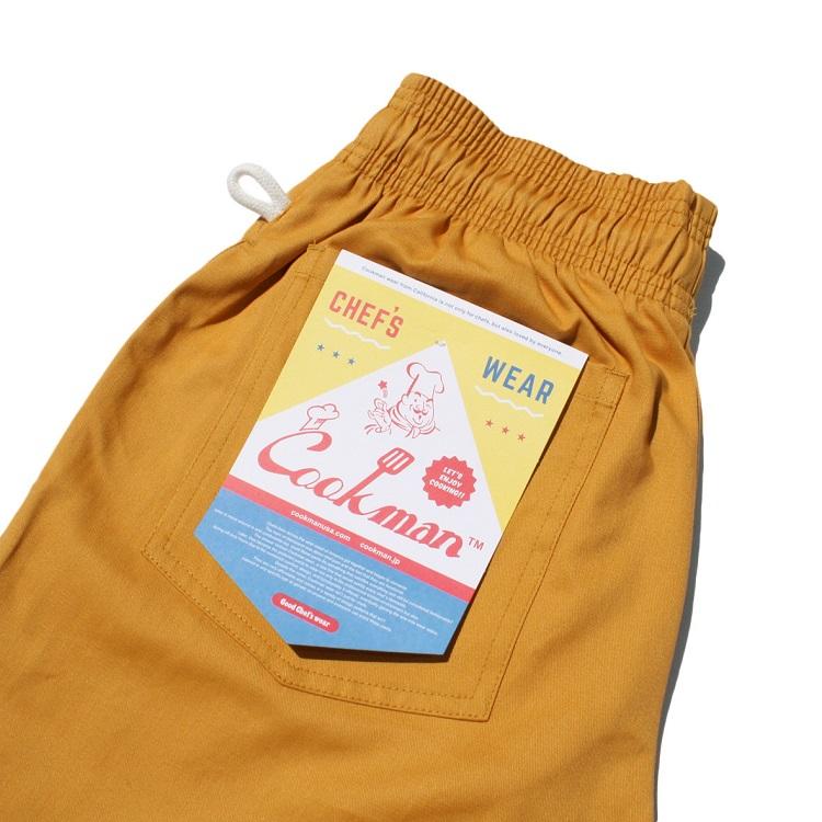 Chef Pants 02 Checker MUSTARD