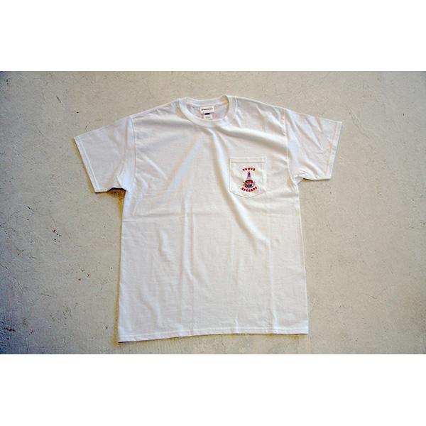 WTM ポケット Tシャツ TOWER THEATER(ホワイト)