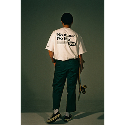 Youth Loser × WEARTHEMUSIC T-SHIRTS(WHITE)