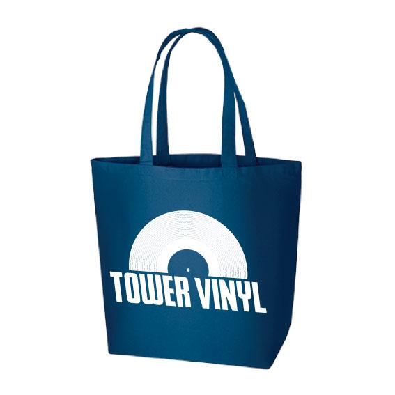 WTM トートバッグ TOWER VINYL(ネイビー)