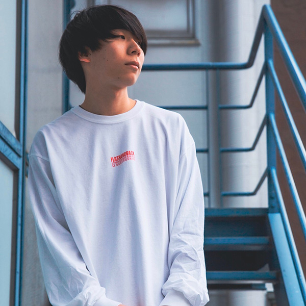 WEARTHEMUSIC×flash and back music city L/S Tee(WHITE)