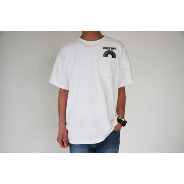 WTM ポケットTシャツ TOWER VINYL(ヴィンテージホワイト)