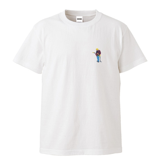 WTM Tシャツ LEGENDS Kurt.C.(ホワイト)